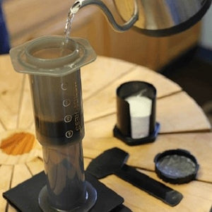 Brewing with an Aeropress