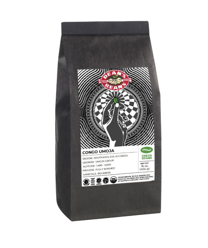 *LIMITED EDITION* Congo Umoja Green Coffee (Unroasted)