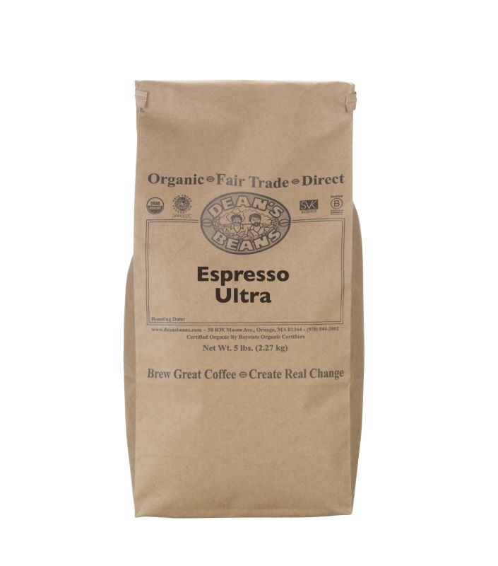 Espresso Ultra green beans - 5 pound bag