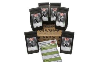 Green Bean (Unroasted) Sampler Pack