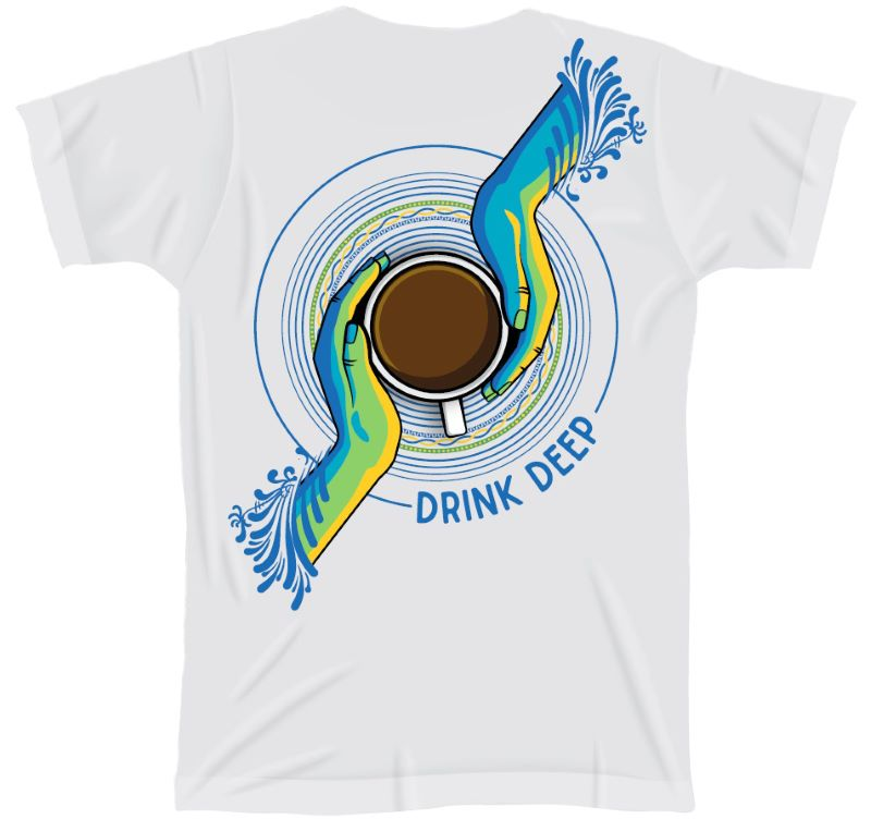 """Drink Deep"" T-Shirt"