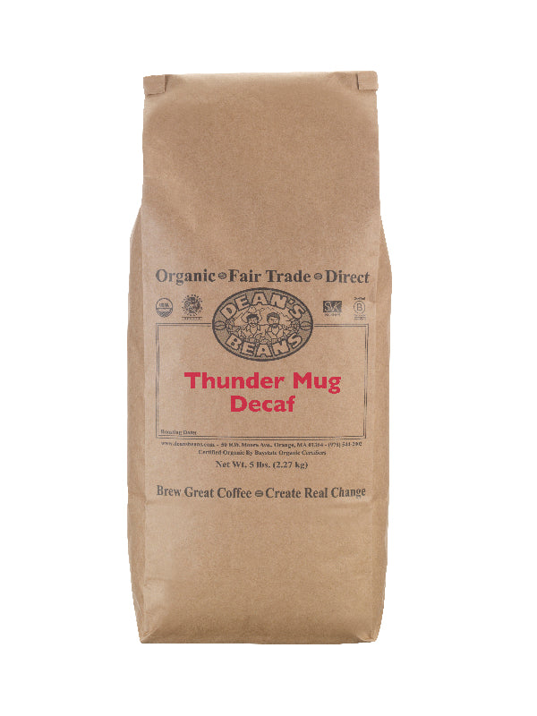 Thunder Mug Decaf Coffee - 5 pound bag