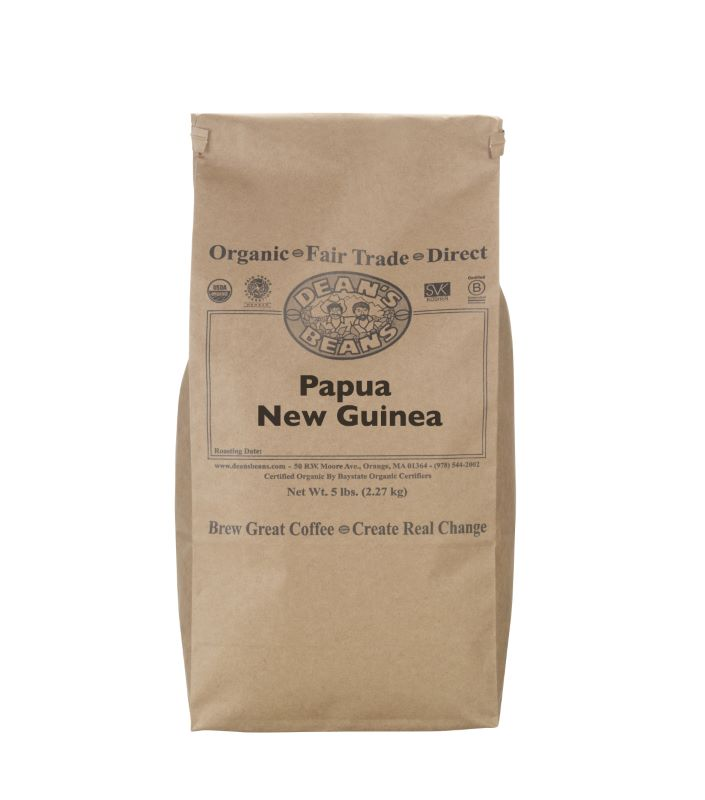 Organic Papua New Guinea Green Coffee (Unroasted)