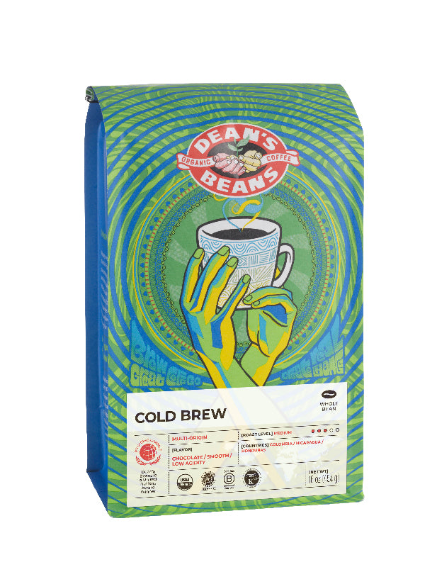 Cold Brew Coffee - Front Label
