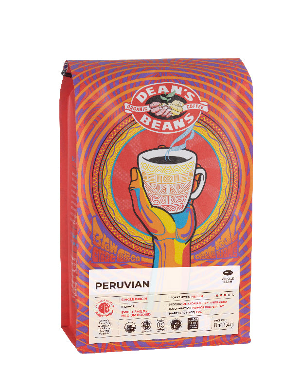 Peruvian Coffee - Front Label