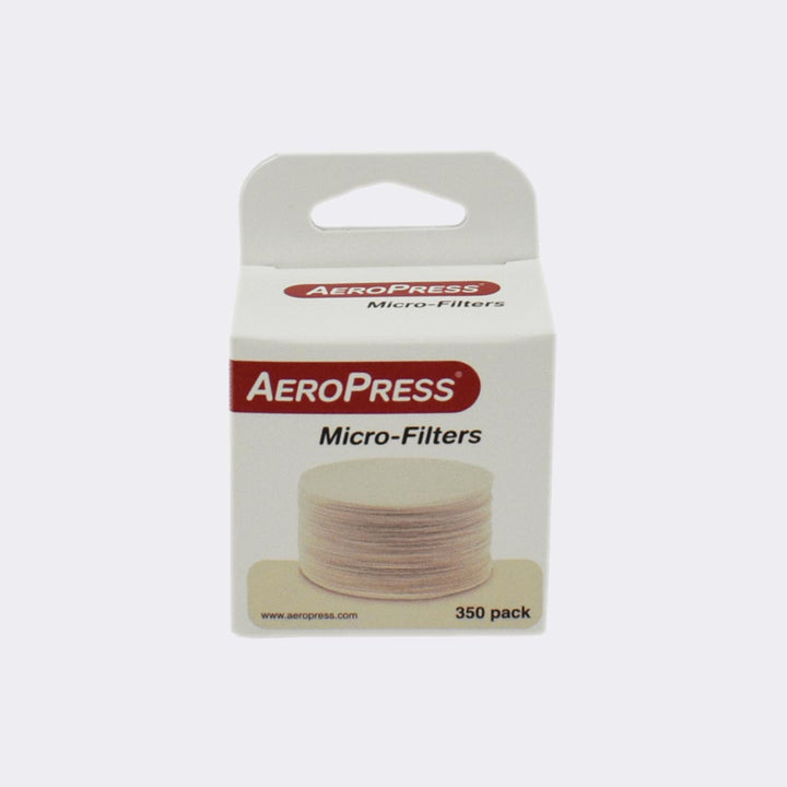 Small box of AeroPress filters