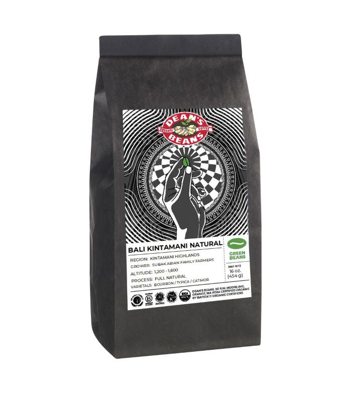 *Limited Edition* Organic Bali Kintamani Green Coffee (Unroasted)