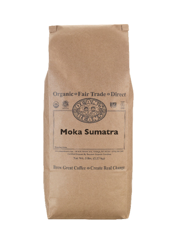 Moka Sumatra Coffee - 5 pound bag