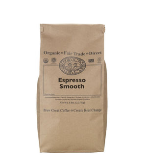 Espresso Smooth green beans - 5 pound bag