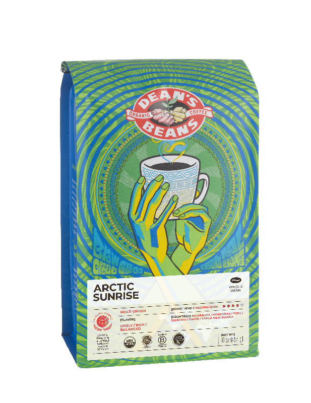 Arctic Sunrise Bag - Front Label