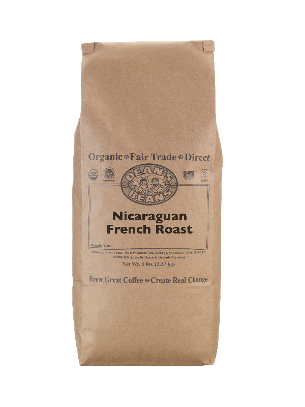 Nicaraguan French Roast Coffee - 5 pound bag