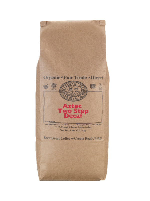 Aztec Two Step Decaf - 5 Pound Bag
