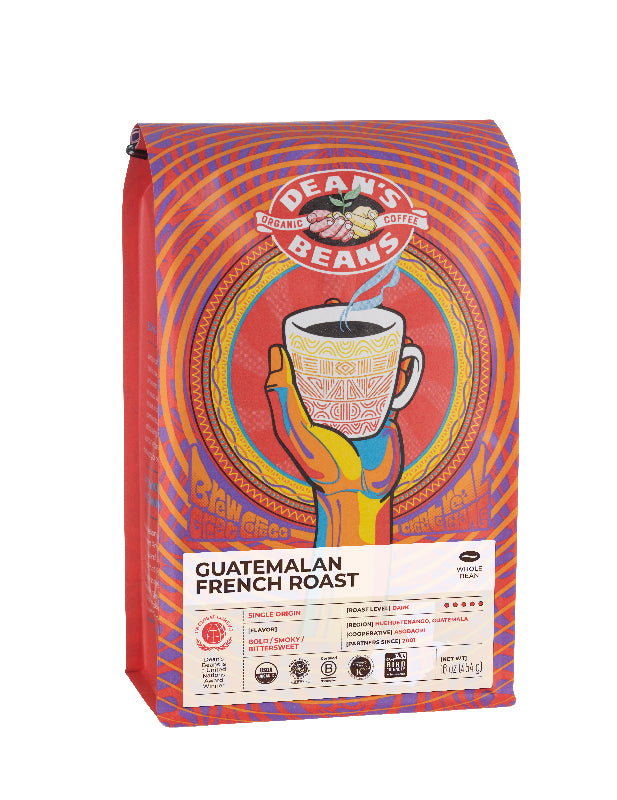 Guatemalan French Roast Coffee - Front Label