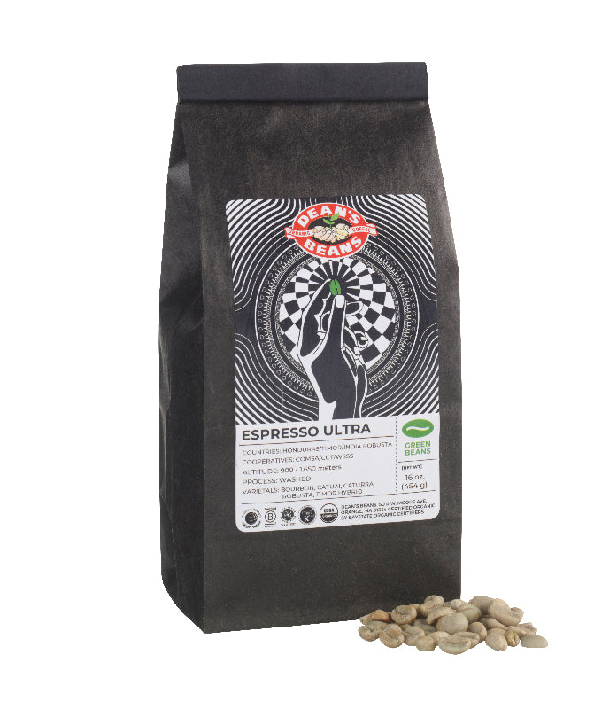 Organic Green Espresso - Ultra (Unroasted)