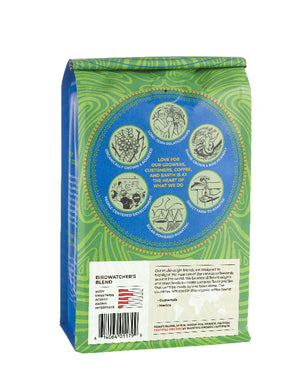 Birdwatcher's Blend Bag - Back Label