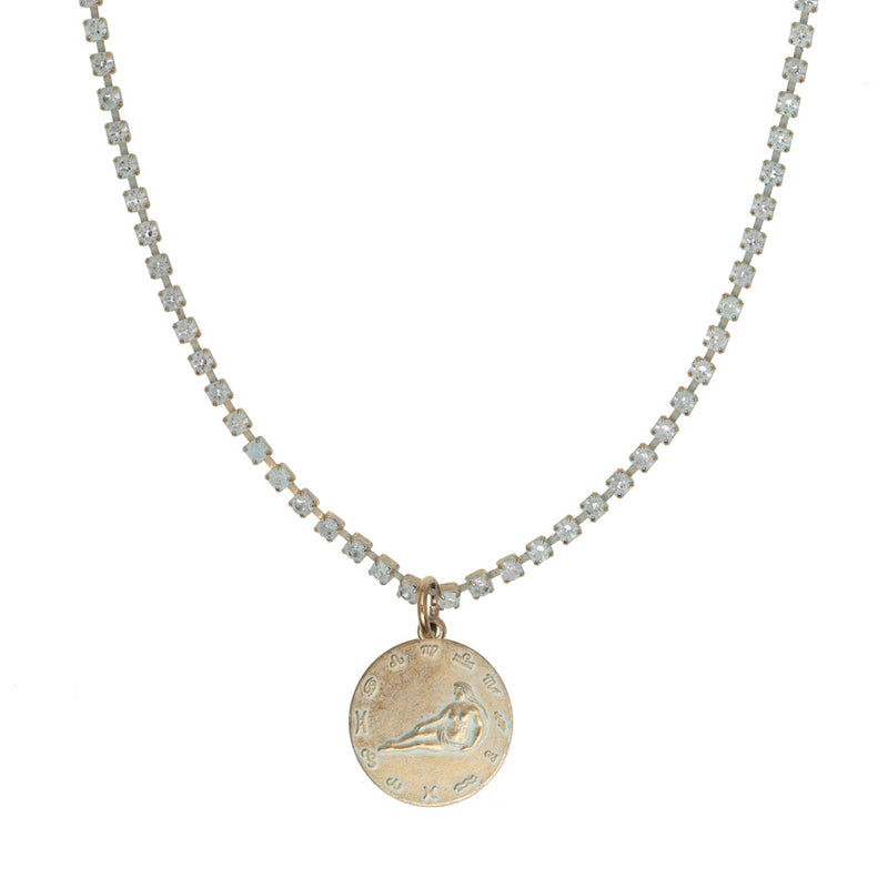 Virgo Patina Necklace