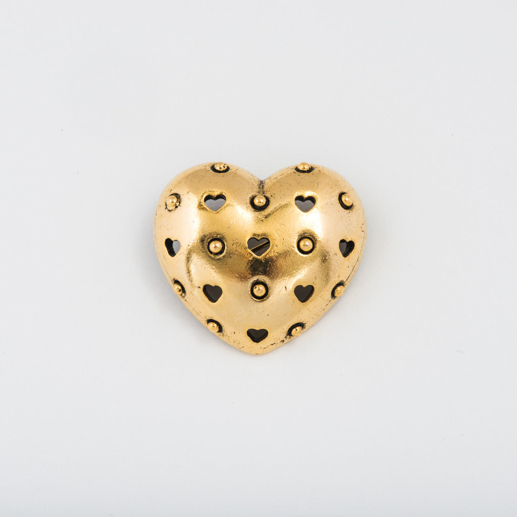 Puffed Heart Pin