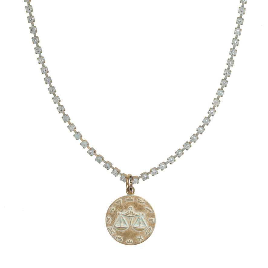 Libra Patina Necklace
