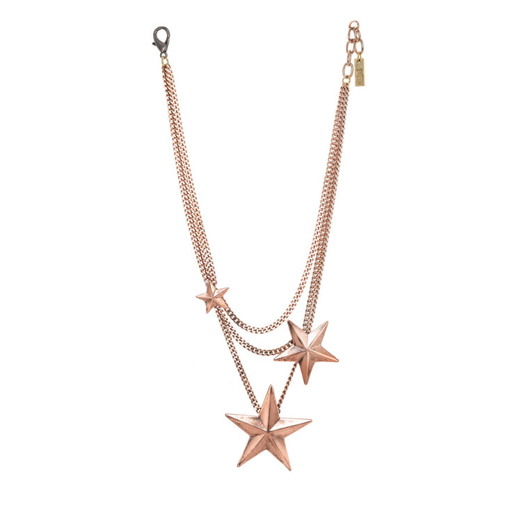 Brazil 3 Star Antique Rose Gold
