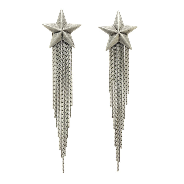 Shooting Star Antique Silver