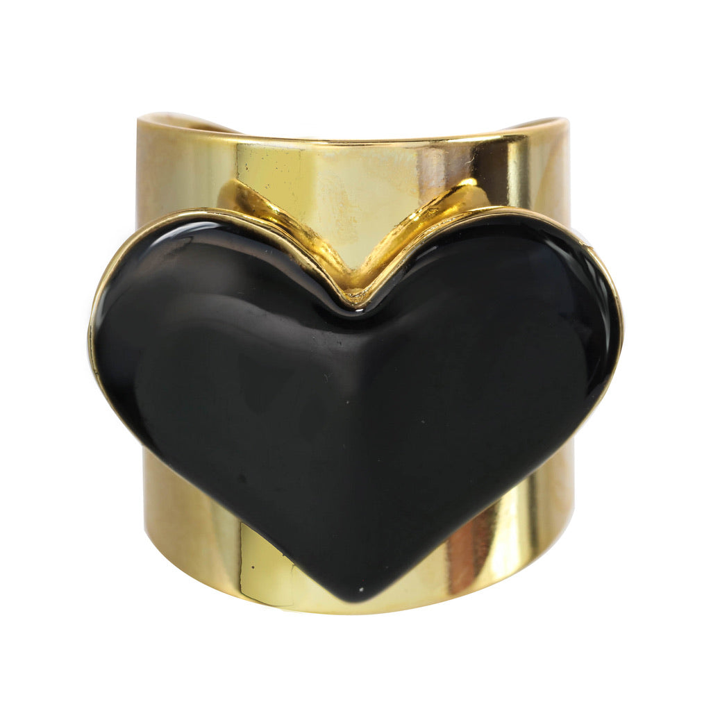 Black Heart Ring