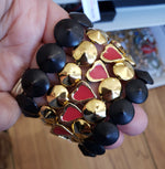 Button Bracelet Gold