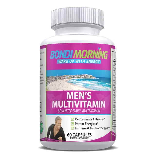 Aurgania's Men's Multivitamin Capsules | Bondi Morning -