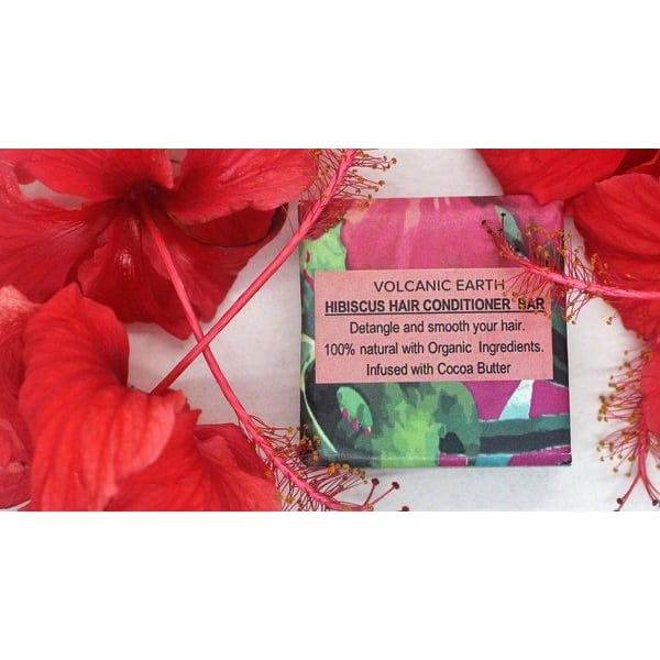 Hibiscus Hair Conditioner Bar - Hibiscus Hair Conditioner