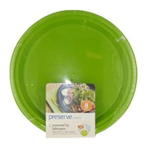 Preserve Apple Green Large Plates (12x8 CT) - Eco-Home
