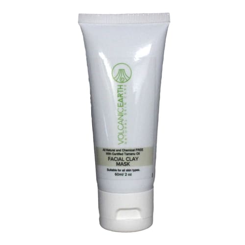 Volcanic Earth Facial Clay Mask With Tamanu Oil 60ml -