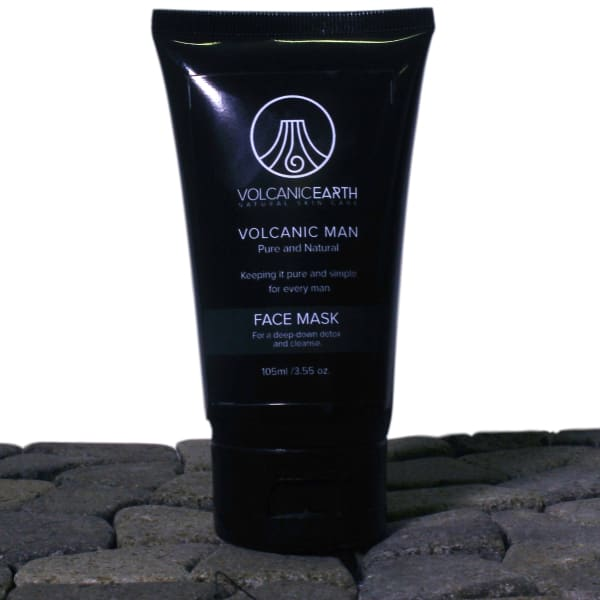 Volcanic Earth MEN'S FACE MASK with Tamanu oil 3.55oz /105ml