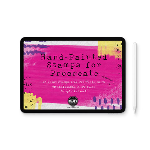 Hand-Painted Stamps for Procreate