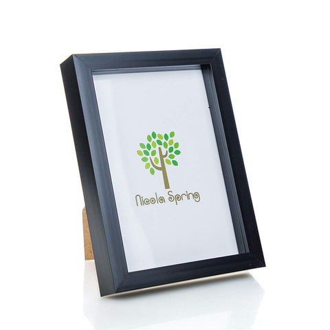 A5 Acrylic Box Black Frame for Prints (Glass Front)