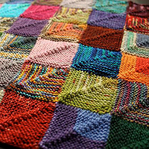 FREE Knitted Patchwork Recipe