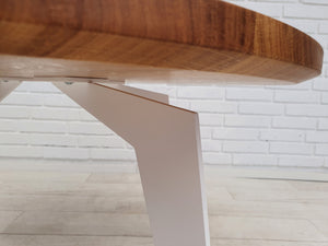 Open picture in slide show, SKOVLUND - coffee table, solid oak, Ø80-90cm - for private customer