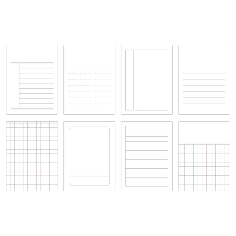 Basic Grid Journaling Tags