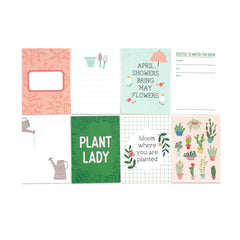 Plant Lady Journaling Tags