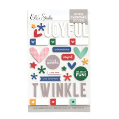 Joyful Chipboard Stickers