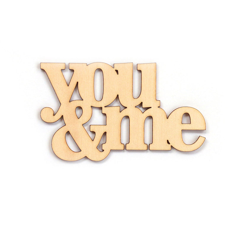 You and Me Wood Veneer