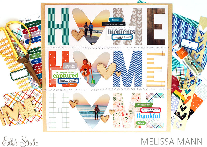 Cozy Chipboard Stickers