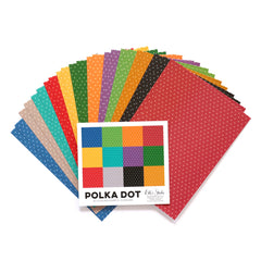 Jewel Polka Dot 6 x 8.5 inch Paper Stack