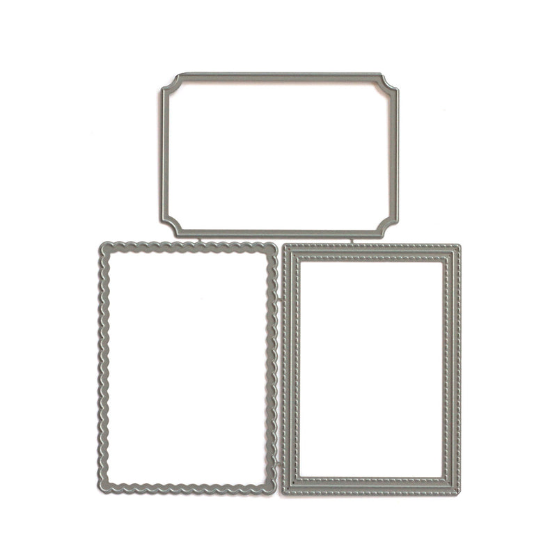 Pocket, Frame, and Flip Up - Extra Frames Metal Die