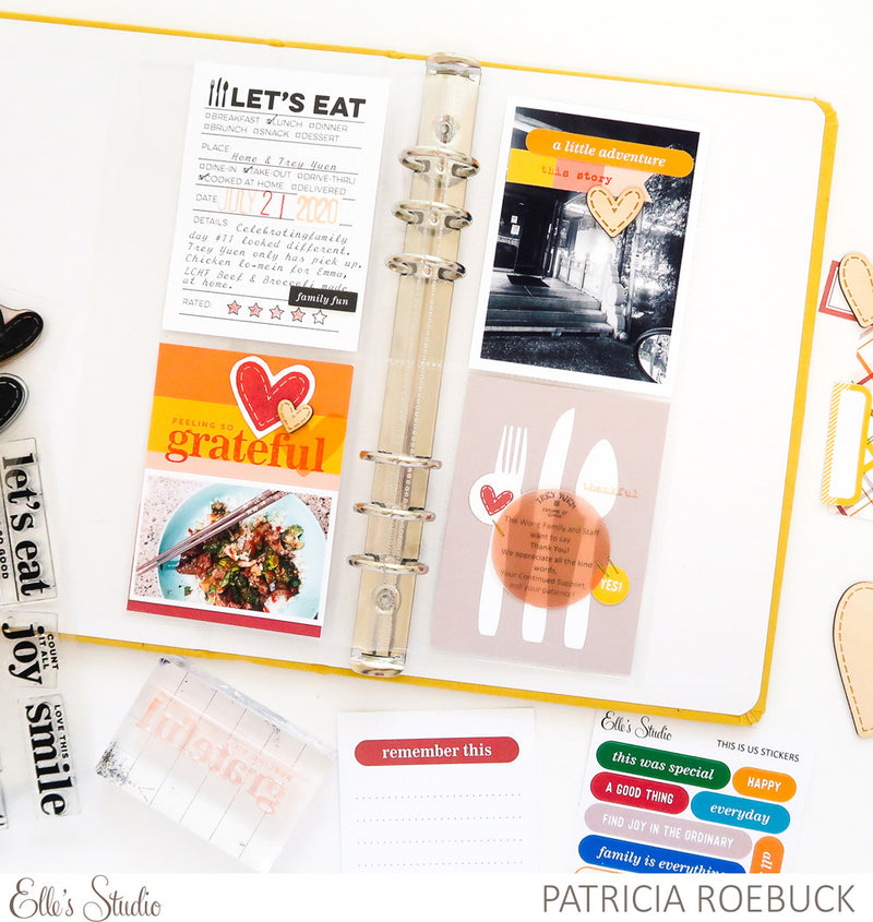 Let's Eat Journaling Tags