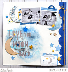 To the Moon and Back Wood Veneer