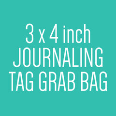 3 x 4 inch Journaling Tag Grab Bag