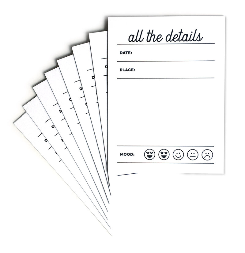 All The Details Journaling Tags