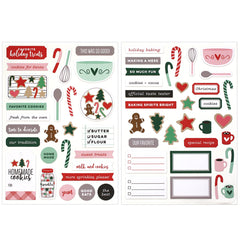 Christmas Cookie Cardstock Stickers