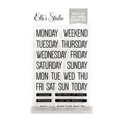 Days of the Week Stamp
