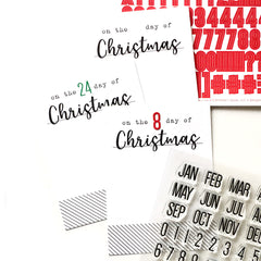December Countdown Tags