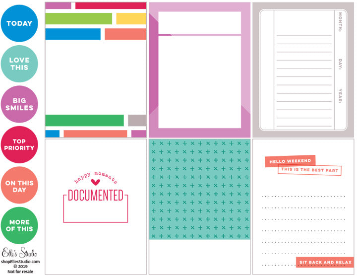 Hello Weekend Printables